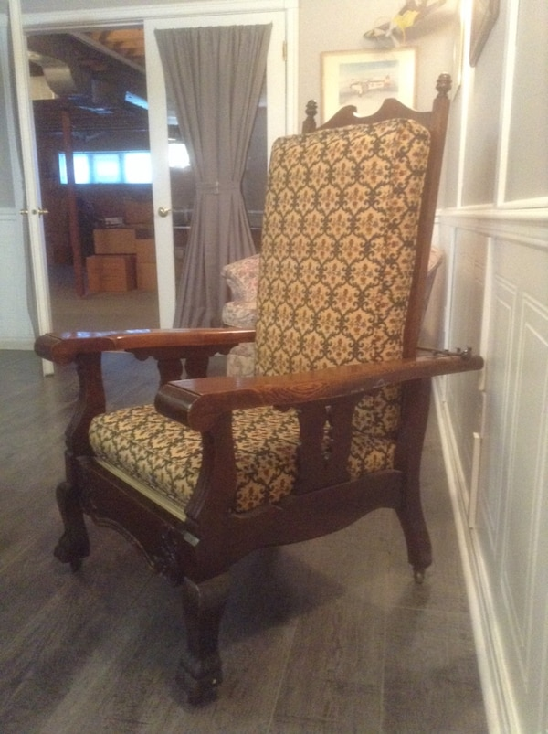 Remarkable Morris Reclining Chair Circa 1920 1930 Machost Co Dining Chair Design Ideas Machostcouk