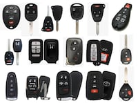 Car Key, Remotes, all key lost Toronto, M6H 2G3