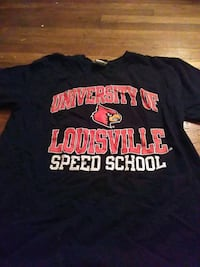 black and red crew-neck shirt Louisville, 40215