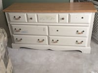 white wooden 3-drawer chest Silver Spring, 20906