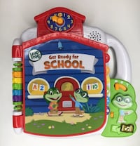 LeapFrog Tad's Get Ready for School Electronic Interactive Book