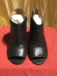 Maison Martin Margiela Snake-Effect leather Open Toes Ankle Boots size 37 IT Richmond Hill, L4C 8L9