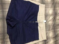 women's blue and white shorts Franklin, 37064