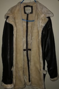 Leather Jacket With Fur . Learsi