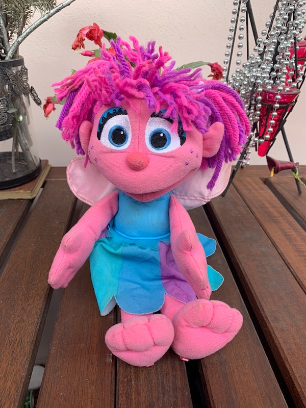 Sesame Street 12 Talking Singing Abby Cadabby Fairy Plush Doll