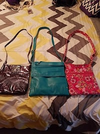 3 crossbodies for 20.00 will separate