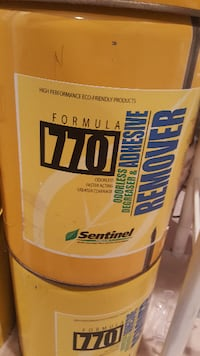 Formula 770 odorless adhesive remover cans Germantown