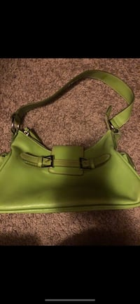 Green purse bought in Toronto