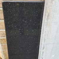 Price Reduced Granite - Black Gallaxy