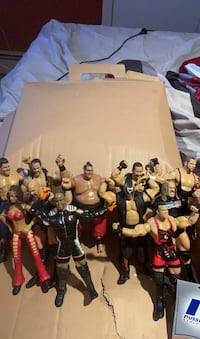 Original WWE collectable action figures
