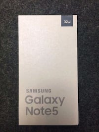 Brand New Sealed Samsung Note 5 Mississauga, L5M 7L9