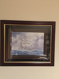 Mahogany framed pictures from gallery. Hagerstown, 21740