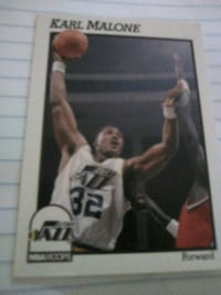 NBA LEGEND KARL MALONE CARD Washington