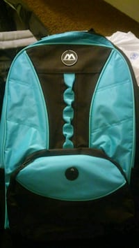 teal and black backpack Sterling Heights, 48313