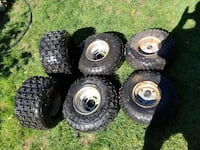 quad wheels tires nd 125!suzuki motor with reverse 1 down 4 up Merrick, 11566