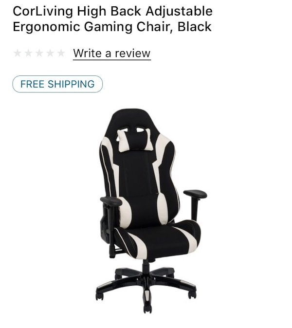 Wondrous Corliving Gaming Chair Brand New In Box Ibusinesslaw Wood Chair Design Ideas Ibusinesslaworg