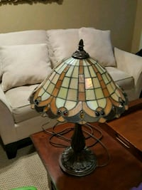 Tiffany stained glass style lamp Langhorne