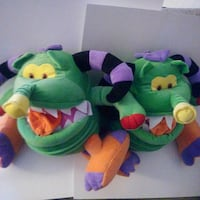green, purple, and yellow plush toy Edmonton, T6X 1J9
