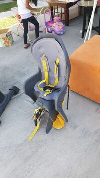 Baby's gray and yellow bike seat carrier North Las Vegas, 89032