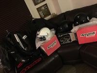 Motorcycle gear!!! everything brand new prices listed below Brooklyn, 11212