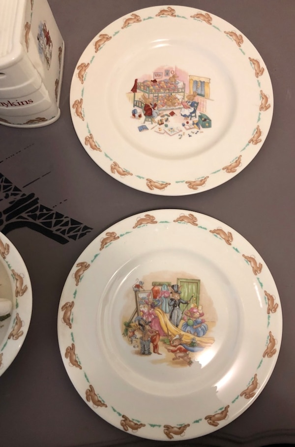 Royal Doulton Bunnykins Set 1936 5