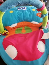 On the go baby play mat
