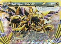 Pokemon Hydreigon trading card Mount Holly, 28120