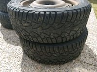 215/55/R17 Winter Tires on Rims Kitchener, N2E 4L4