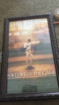 Original movie poster for the love of the game Lansing, 48911