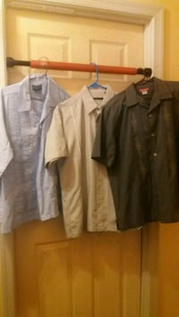 3 button-up shirts Hagerstown, 21742