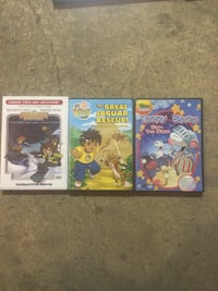 3 Kids DVDs interactive located in Glen Brook Sw Calgary, T2W 4A3