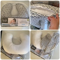 Kidi Comfort nursing pillow with removable cover Toronto, M2N 7C4