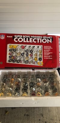 Super Bowl winners helmet collection by RIDDELL Fairfax, 22030