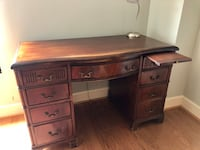 Antique mahogany desk Charlotte