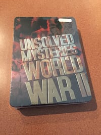 Unsolved Mysteries Of World War ll DVD Set (Brand New)