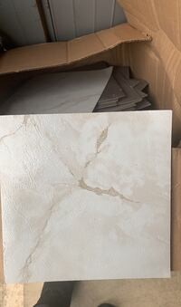 White marble sticker tiles over 250 sq.  Whitehall, 18052