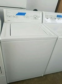 white top-load washer and dryer set Baltimore, 21223