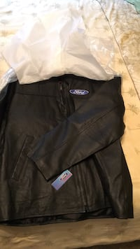 Black leather jacket large brand new Rock Hill, 29730