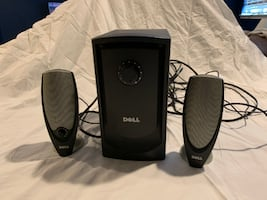 Dell Speakers with Subwoofer