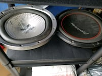 Sony 12inch and Pioneer 12inch subs Hamilton, L8W 3L7