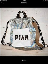 NEW PINK SILVER HOLOGRAPHIC BACKPACK Stockton, 95219