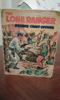 1968 LONE RANGER LITTLE BOOK (GUC) Surrey, V3W 8H4