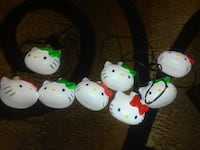Hello Kitty String Lights / Christmas decor Des Moines, 50314