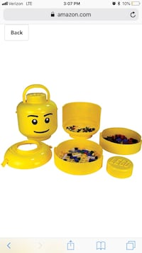 LEGO head storage . Annandale, 22003