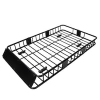 """Black Roof Rack Cargo Carrier (extends up to 64"""") in unopened sealed box Gaithersburg"""