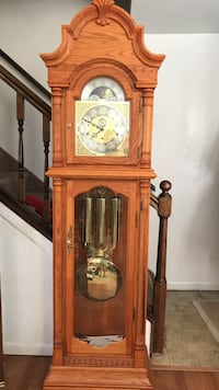 New Brown wooden grandfathers clock