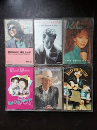 Vintage Cassette Tapes  ANY 2/$5 ALL for $10 Tapes EDMONTON