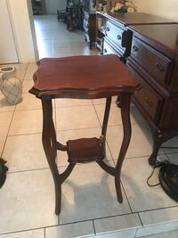 Vintage wooden table  Fort Lauderdale, 33308