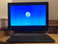 HP All-in-One Touchscreen & HP LaserJet Pro 200 colour
