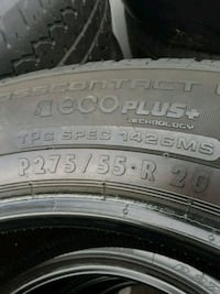 20inch tires used